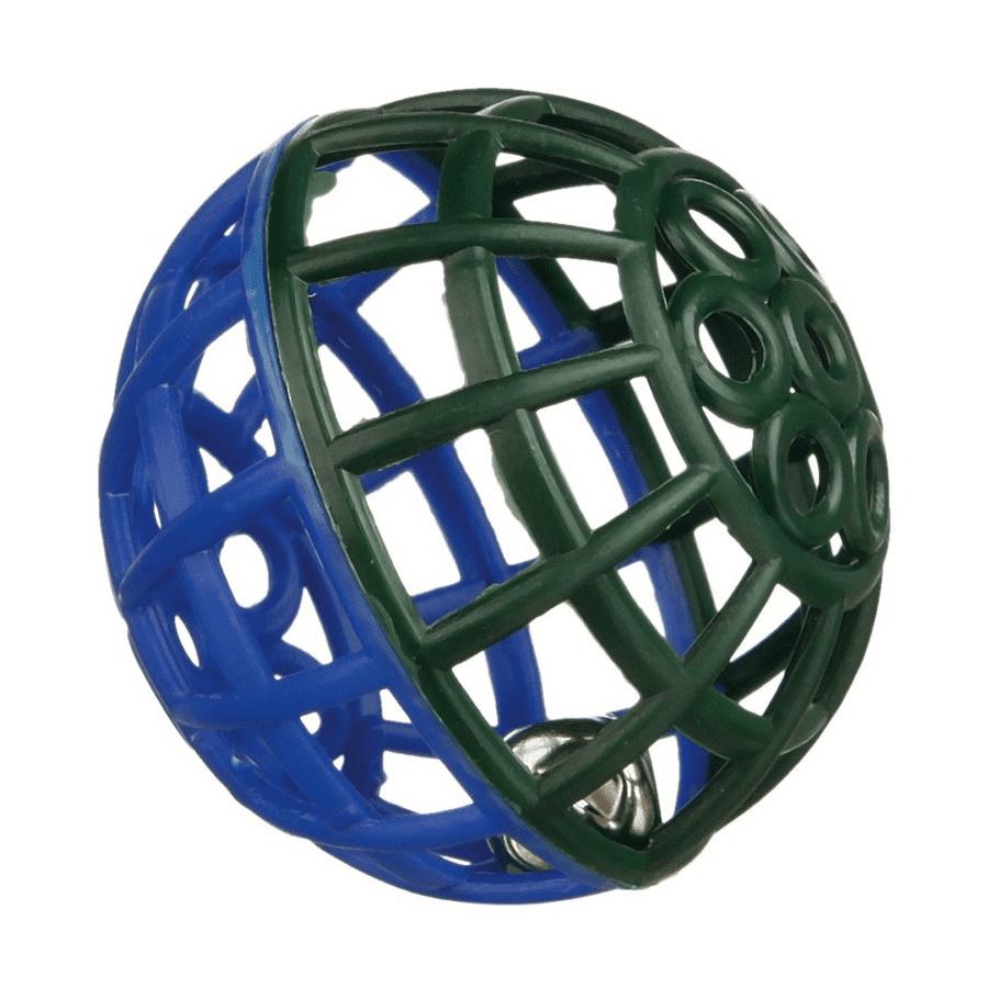 Trixie пластмассовый мячик для птиц