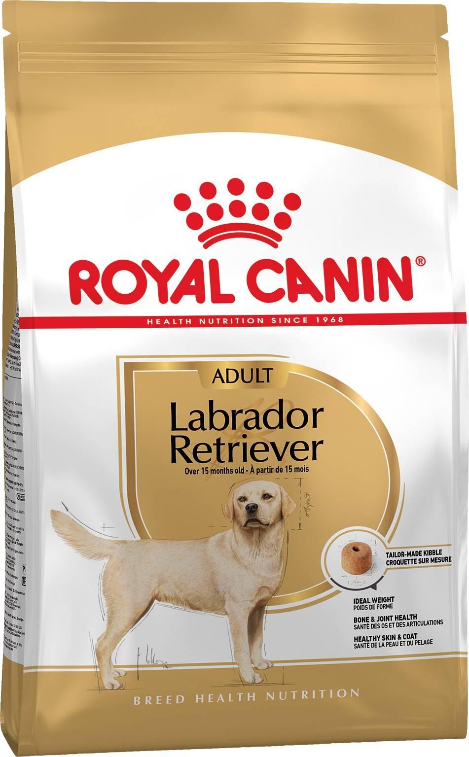 ROYAL CANIN LABRADOR RETRIEVER ADULT – сухой корм для взрослых собак породы лабрадор-ретривер