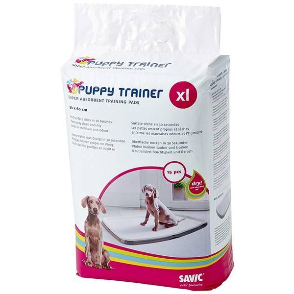 SAVIC PUPPY TRAINER – пеленки для щенков для приучения к туалету, 90×60 см