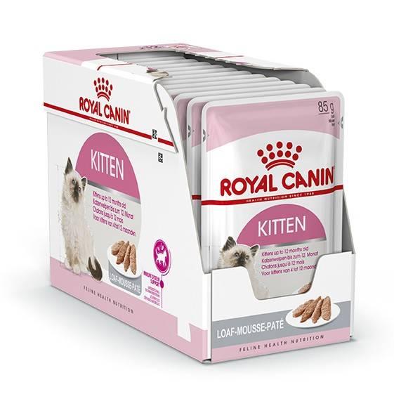 ROYAL CANIN KITTEN wet in loaf – вологий корм для кошенят