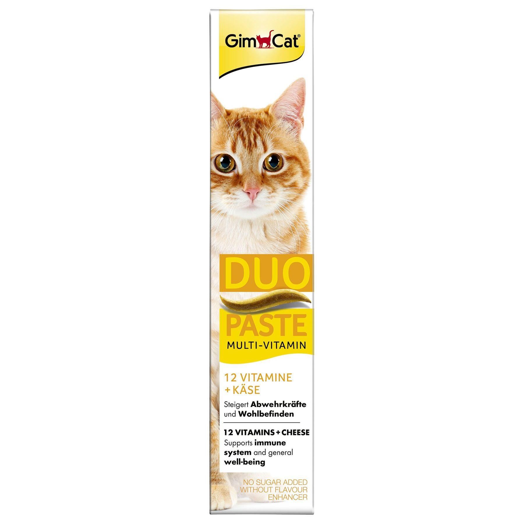 Gimcat  Duo-Paste паста с сыром и витаминами