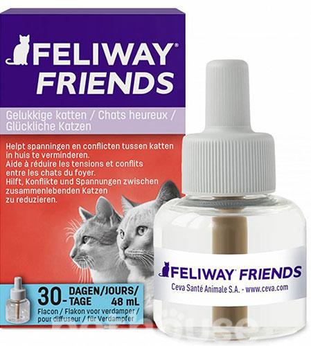 Feliway Friends сменный блок для диффузера с феромонами для котов