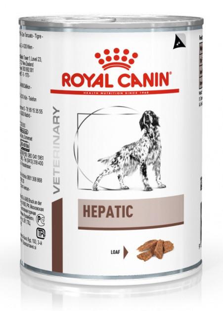 ROYAL CANIN HEPATIC CANINE лечебный влажный корм для собак при заболеваниях печени