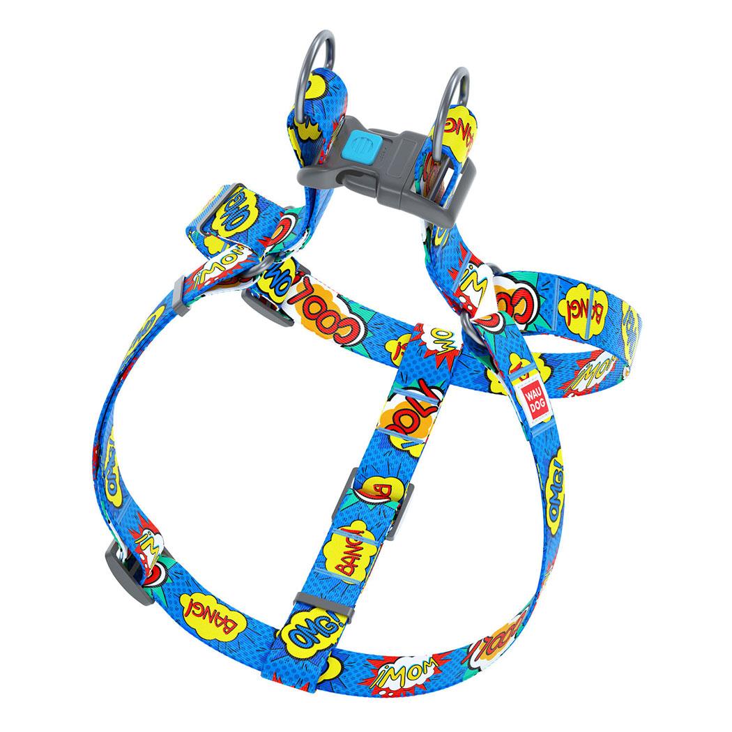 "WAUDOG Nylon ""Вау"" нейлоновая шлейка для собак"