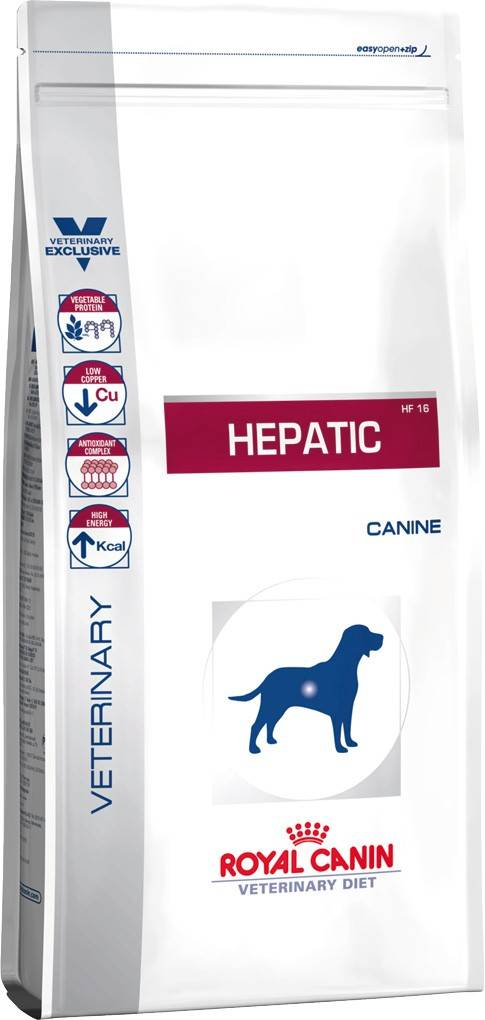 ROYAL CANIN HEPATIC CANINE – лечебный сухой корм для собак при заболевания печени