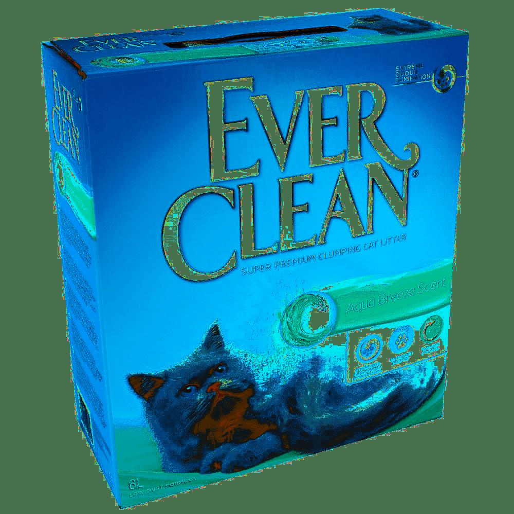 EVER CLEAN AQUA BREEZE – комкующийся наполнитель с ароматом морского бриза