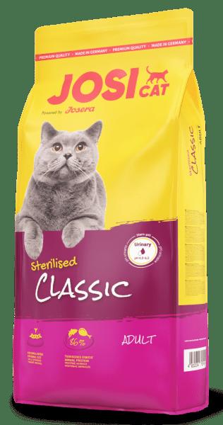 JosiCat Sterilised Classic – сухой корм для стерилизованных и кастрированных котов