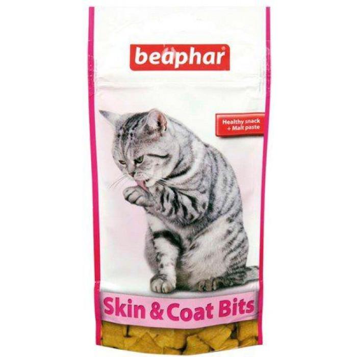 Beaphar Skin & Coat Bits – корисні ласощі для  шкіри і шерсті котів