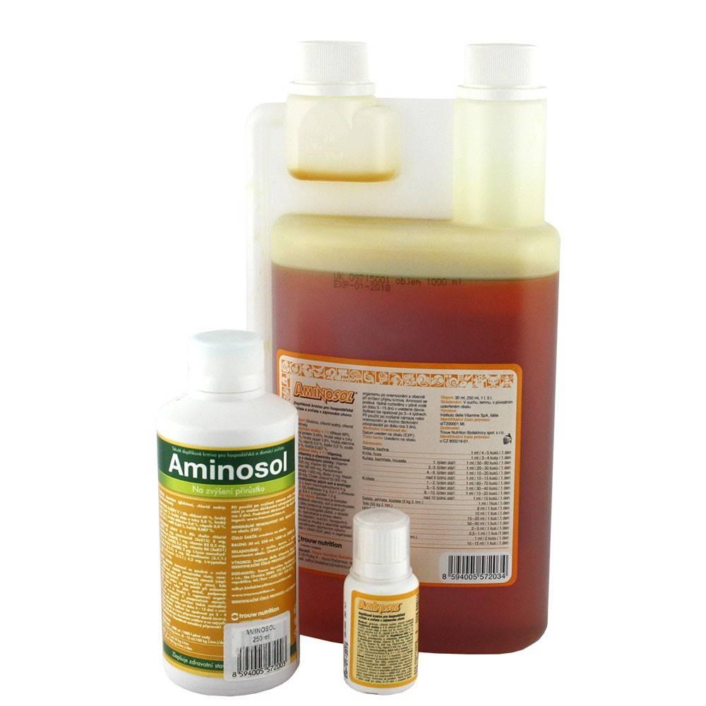 АМІНОСОЛ – комплекс вітамінів, амінокислот і солей для усіх видів тварин