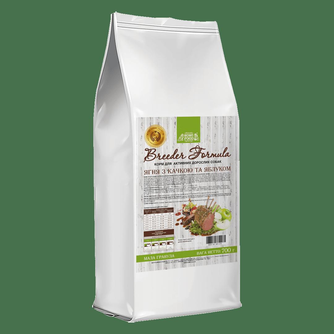 Home Food беззерновий сухий корм для дорослих активних собак середніх та великих порід