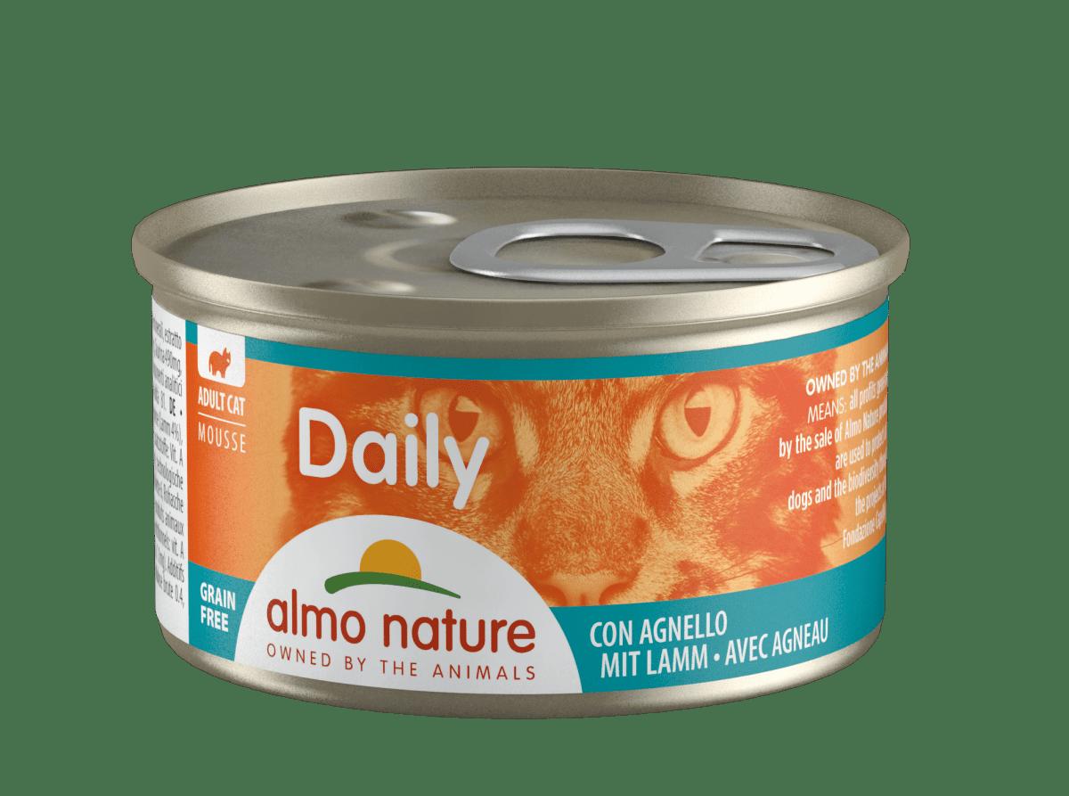 """Almo Nature """"Daily Menu"""" Lamb – консерви для кішок з ягням"""