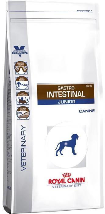 ROYAL CANIN GASTRO INTESTINAL  JUNIOR – лікувальний сухий корм для цуценят з порушенням травлення