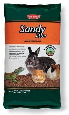 Padovan Sandy litter – подстилка для грызунов и рептилий