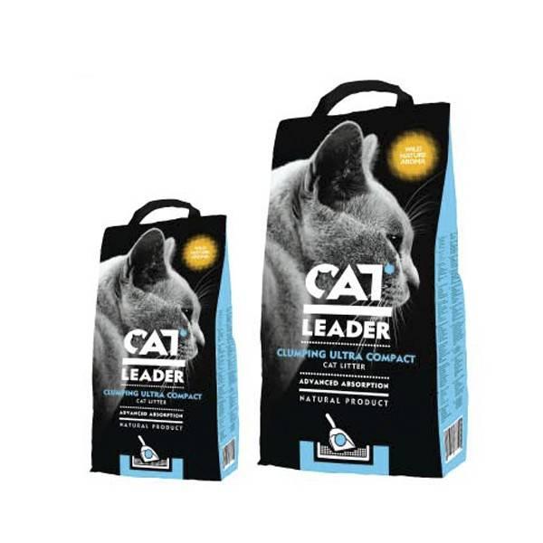 CAT LEADER WILD NATURE бентонитовый наполнитель с ароматом дикой природы