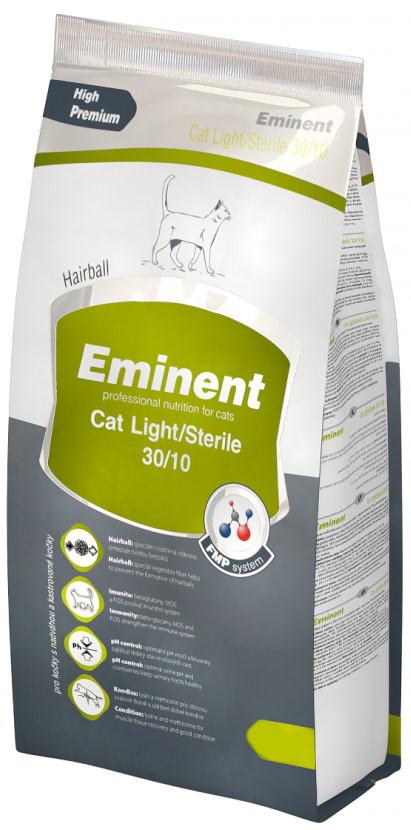Eminent Cat Light Sterile – сухий корм для стерилізованих та малоактивних кішок з куркою