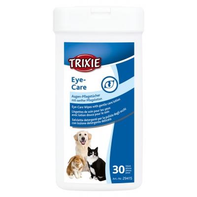 Trixie салфетки для глаз в пластиковой банке