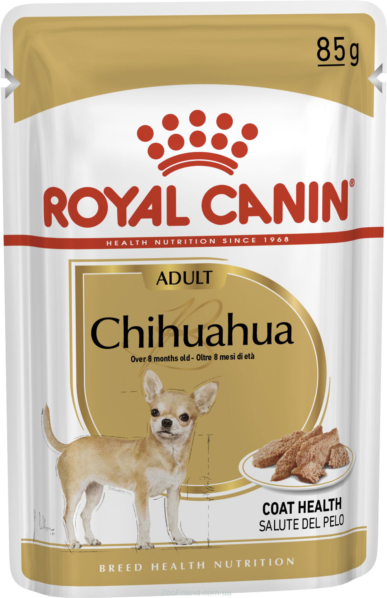 ROYAL CANIN CHIHUAHUA ADULT – влажный корм для взрослых собак породы чихуахуа