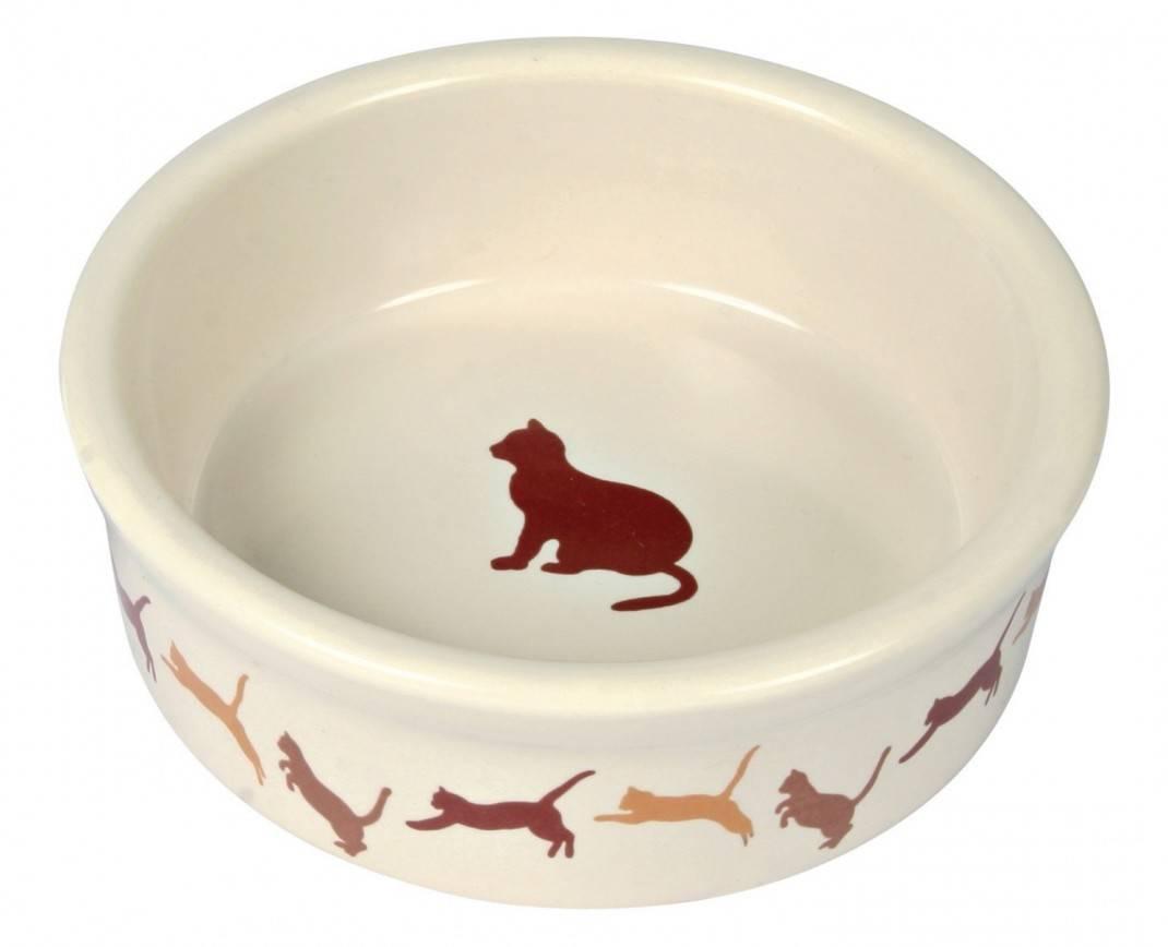 Trixie Коти – керамічна миска з малюнком