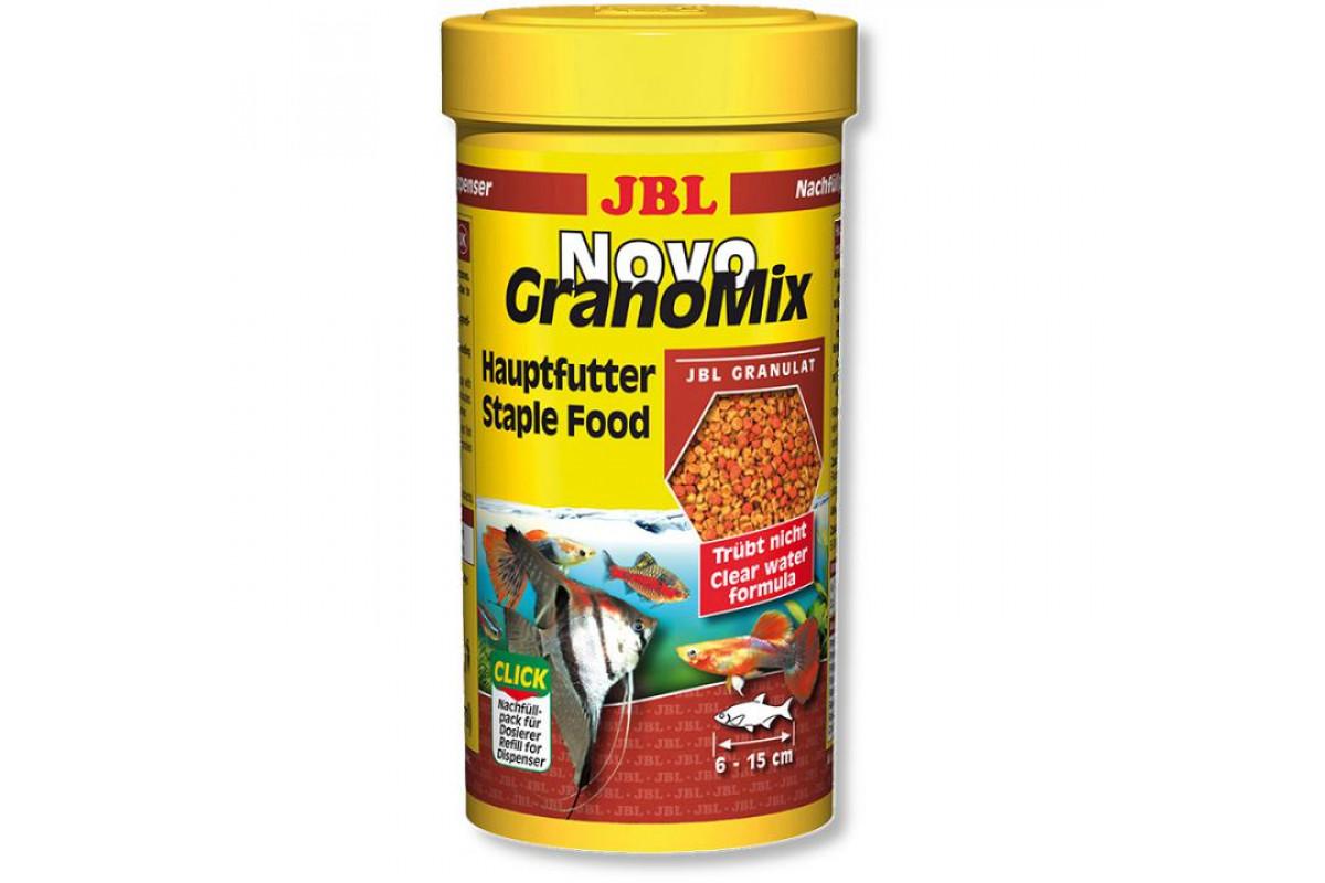 JBL NovoGranoMix mini - основний корм у формі гранул для невеликих риб