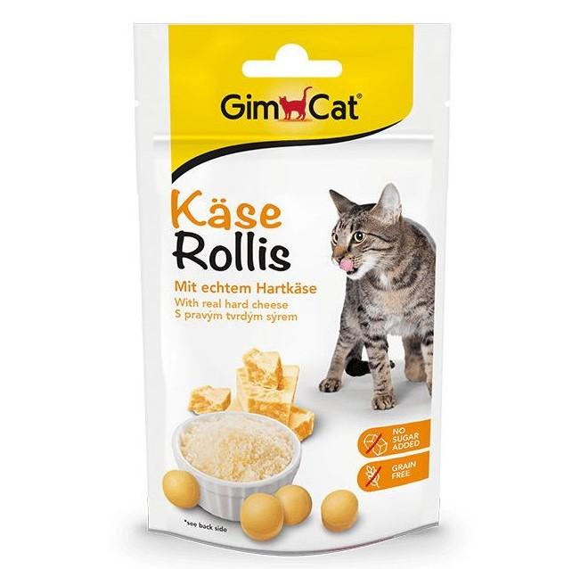 GimCat Kase Rollis – сирні вітамінізовані ласощі для котів