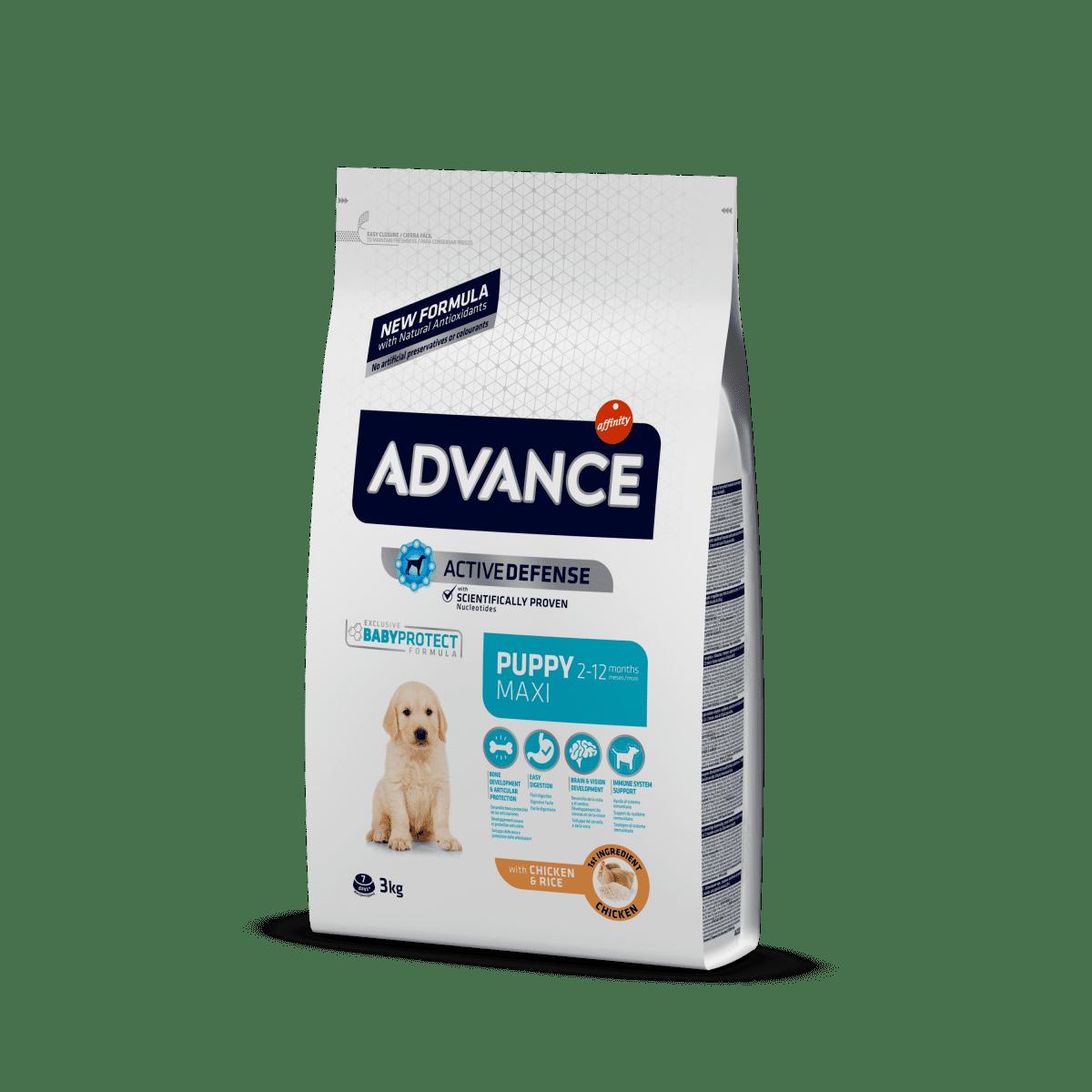 Advance Dog Puppy Maxi – сухой корм для щенков крупных пород