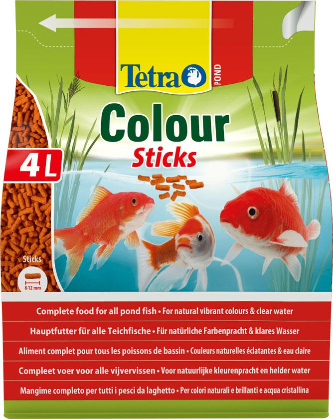 Tetra Pond Colour – корм для прудовых рыб в гранулах