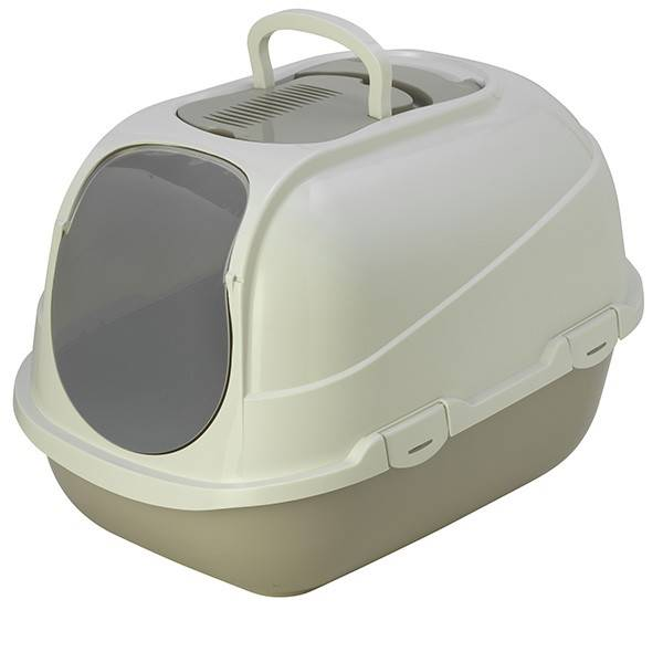 Moderna МОДЕРНА МЕГАКОМФІ КЕТ закритий туалет для котів, 66×46×50 см