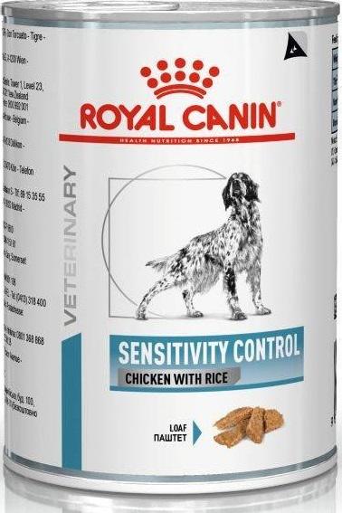 ROYAL CANIN SENSITIVITY CONTROL CHICKEN WITH RICE – лечебный корм с курицей и рисом для собак с чувствительным пищеварением