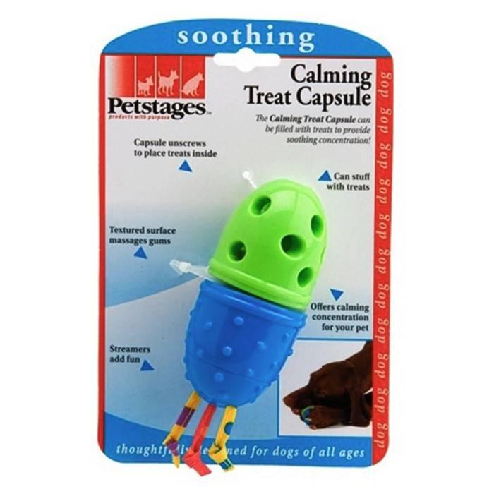 PETSTAGES CALMING TREAT CAPSULE – іграшка-капсула для ласощів