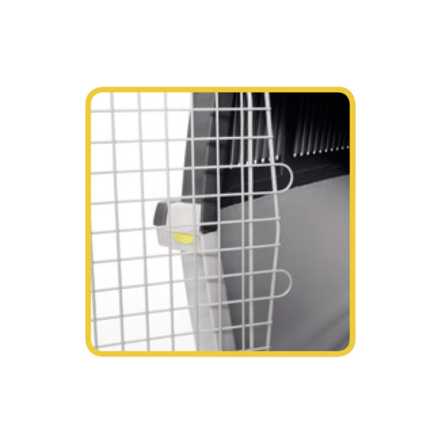 Stefanplast Gulliver 5 IATA – переноска з металевими дверима для собак і кішок вагою до 25-30 кг, 81×61×60 см