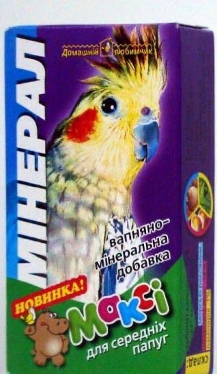 МАКСИ – мелок для средних попугаев
