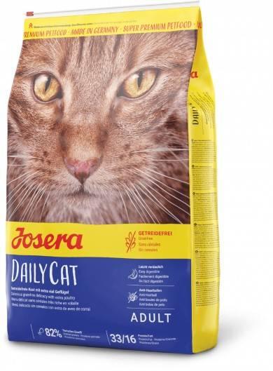 JOSERA DAILYCAT – сухой беззерновой корм для домашних котов