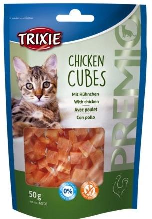 Trixie Premio Chicken Cubes – ласощі з куркою для котів