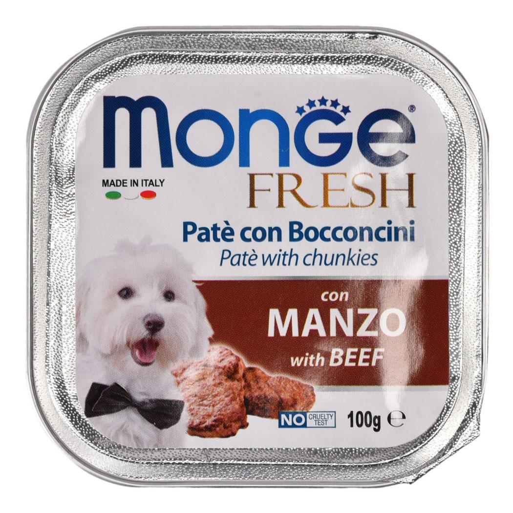 Monge Fresh Beef – консерви з яловичиною для собак