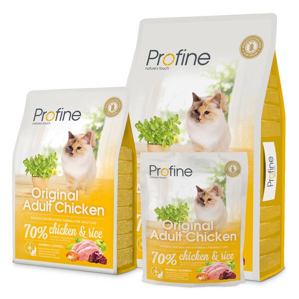 Profine Cat Original Adult  сухой корм с курицей для котов всех пород