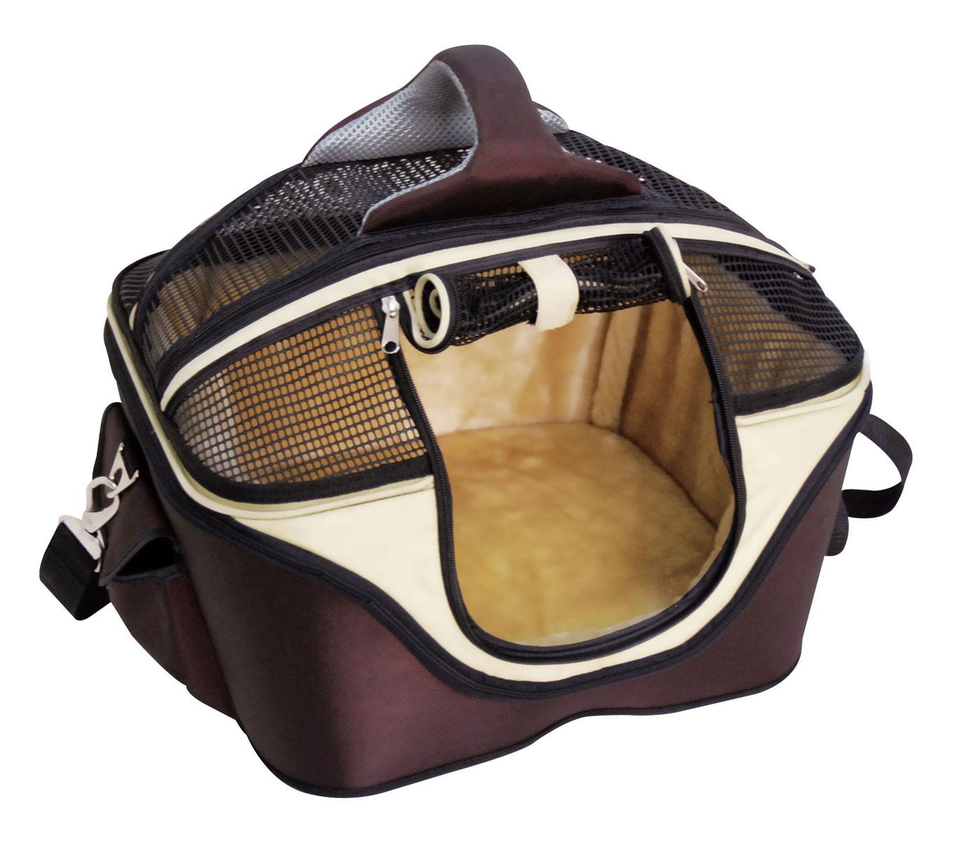 Croci Fast & Easy сумка-лежак для кішок і собак