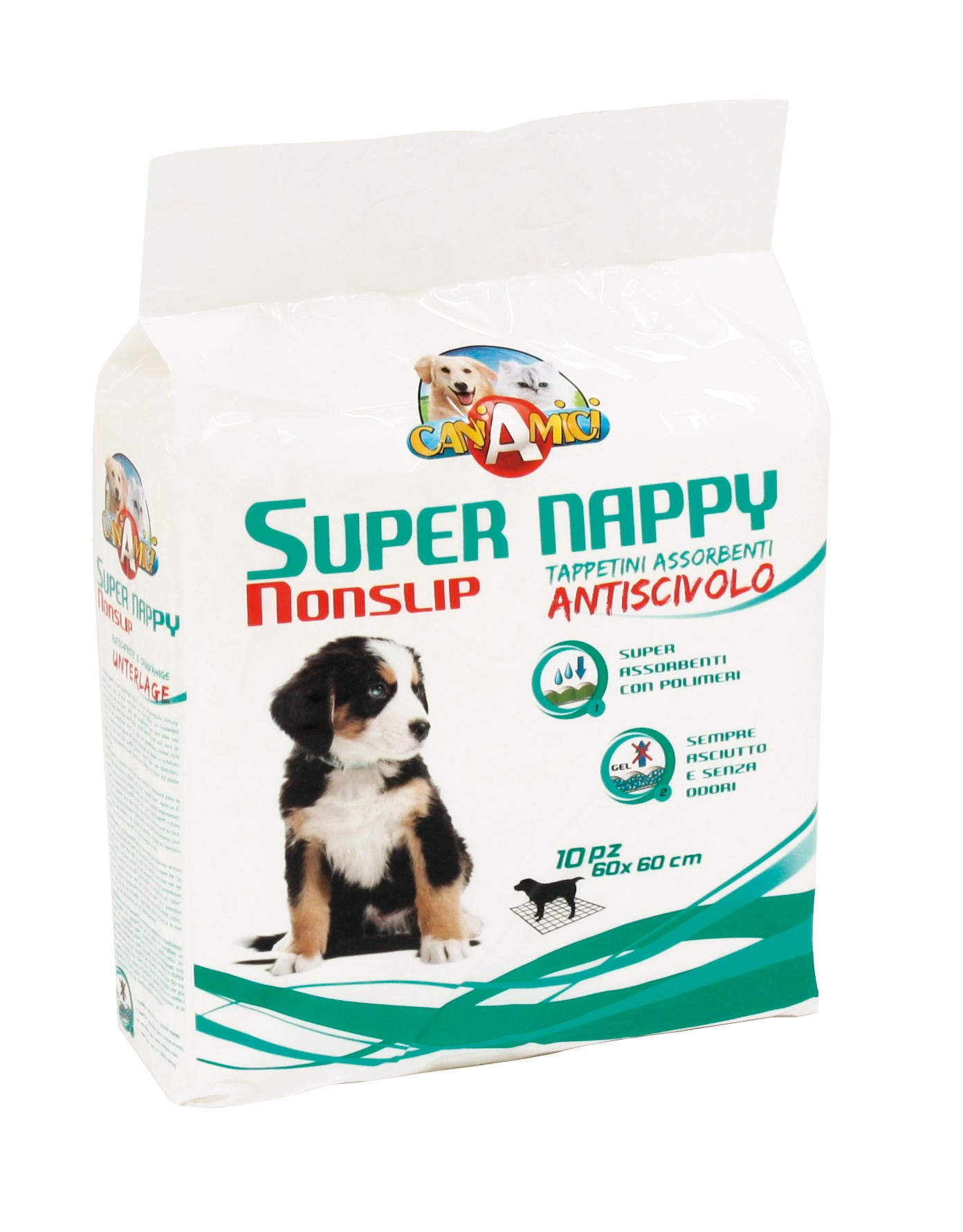 Croci Super Nappy Nonslip антискользящие пеленки для собак, 10 шт