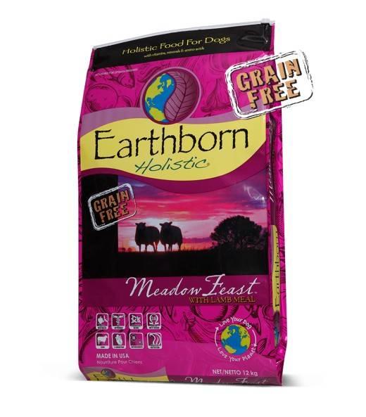 EARTHBORN HOLISTIC MEADOW FEAST – сухой корм для собак с чувствительным пищеварением