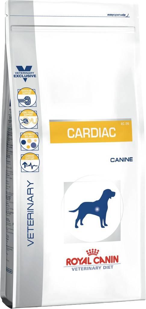 ROYAL CANIN CARDIAC CANINE – лечебный сухой корм для собак с сердечной недостаточностью