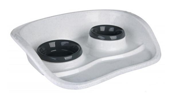TrixieDinner Tray Set – пластикові миски з піддоном