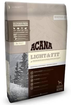 ACANA Light&Fit – сухой корм для взрослых собак с избыточным весом