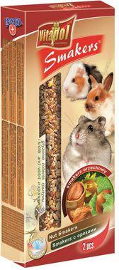 Vitapol ласощі для гризунів і кроликів з горіхами