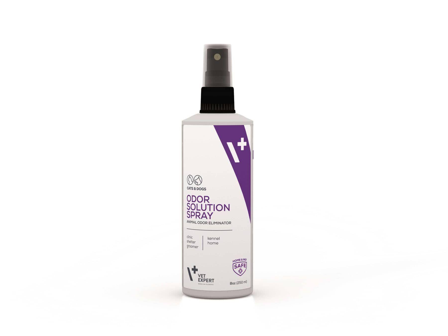 VetExpert Odor Solution Spray – спрей-знищувач неприємних запахів від тварин