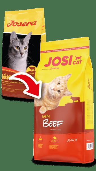 JosiCat Tasty Beef – сухой корм с говядиной для взрослых кошек