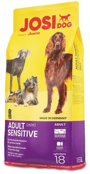 JOSIDOG ADULT SENSITIVE – сухий корм для дорослих собак з чутливим травленням