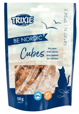 Trixie Premio Be Nordic Cubes Salmon – ласощі для котів з лососем