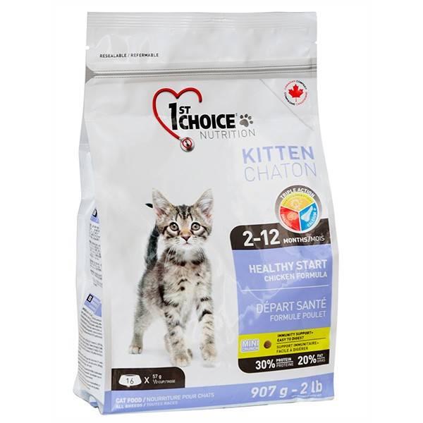 1ST CHOICE KITTEN HEALTHY START – сухой корм для котят