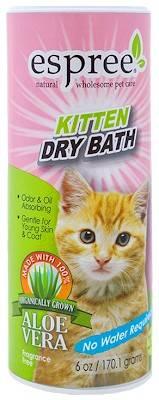 ESPREE Kitten Dry Bath – сухой шампунь для котят