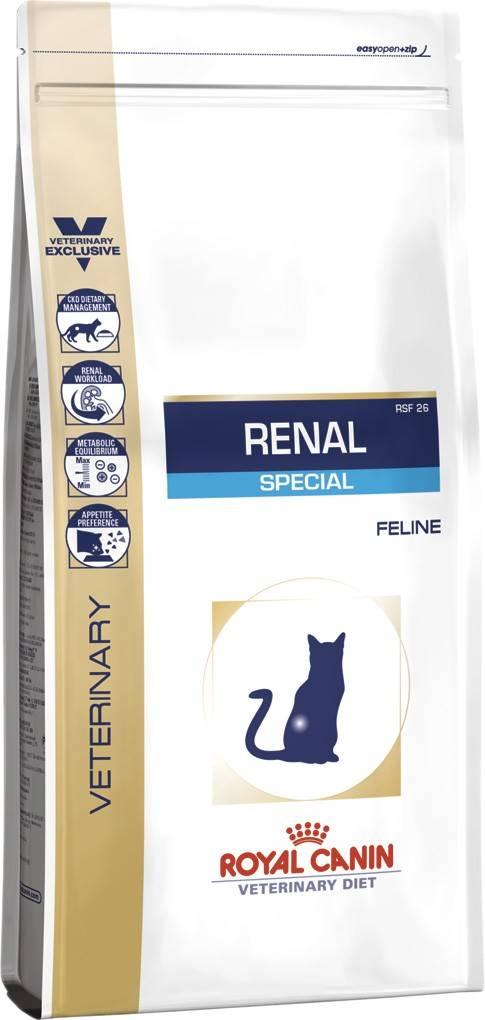 ROYAL CANIN RENAL FELINE SPECIAL – лечебный сухой корм для взрослых котов с почечной недостаточностью