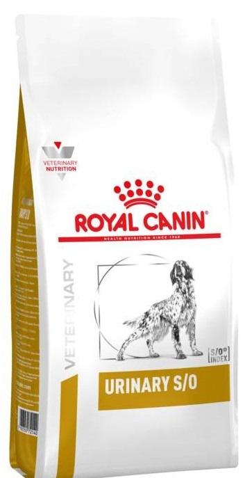 ROYAL CANIN URINARY S/О лечебный сухой корм для собак при заболеваниях нижних мочевыводящих путей